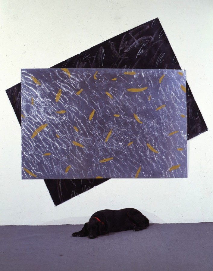 Untitled with Sheba 1985